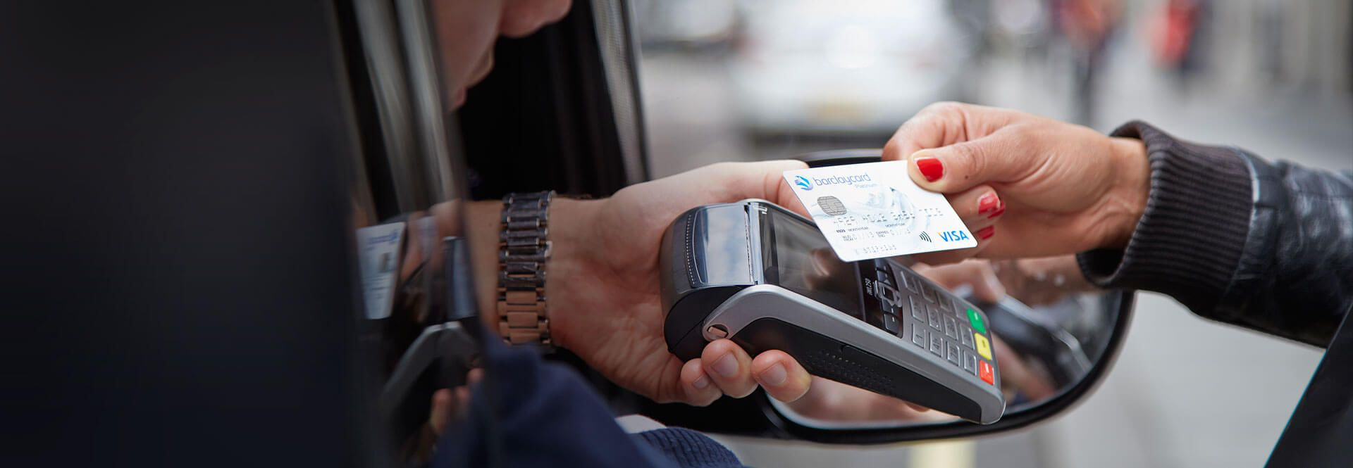 Mobile card machines | POS GRPS | Barclaycard Business