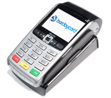 Portable card machine