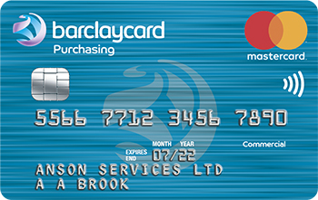 Barclaycard purchasing cards