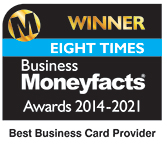 Winner Eight times, Business Moneyfacts Awards 2014–2021