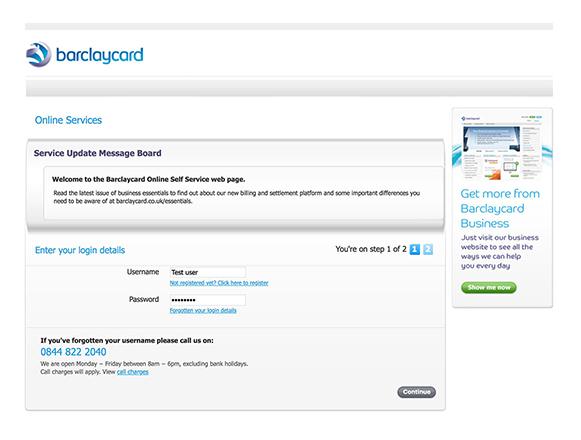 Chargeback Barclaycard