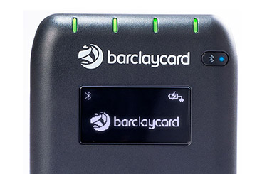 The Anywhere card reader charging icon.