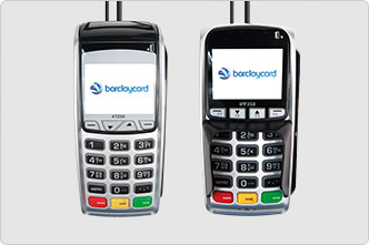 Barclaycard Desktop card machine and separate PIN pad
