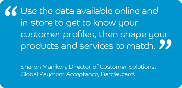 Sharon Manikon, Director of Customer Solutions, Barclaycard