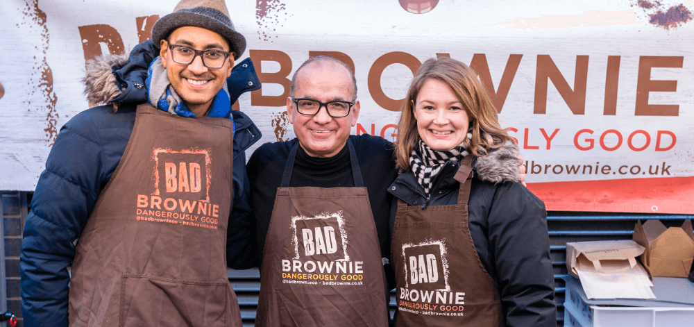 The team behind Bad Brownie