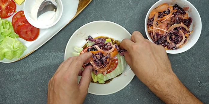 Build a brilliant vegan burger with Co-op and BOSH!
