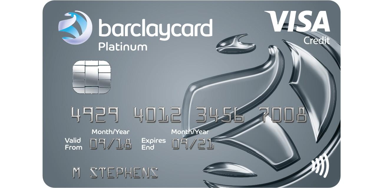 Platinum 8 month 8% Purchase & Balance Transfer  Barclaycard
