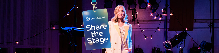 Find out more about Barclaycard Share the stage